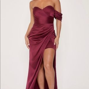 Meshki Elodie Sweetheart Maxi Dress